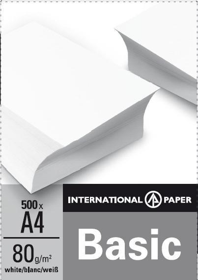 Бумага офисная А4 IP Basic 500 л.