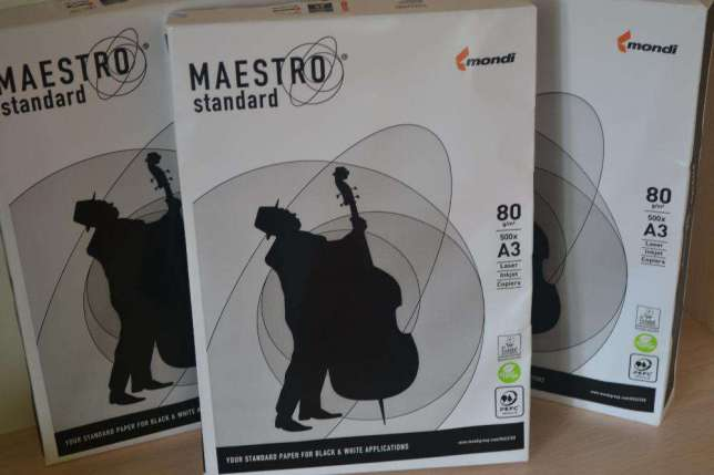 Бумага офисная A3 Maestro Standart 500 л.