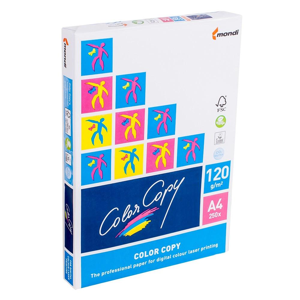 Бумага офисная А4 Color Copy 120г/м2, 250л (арт. 151286)