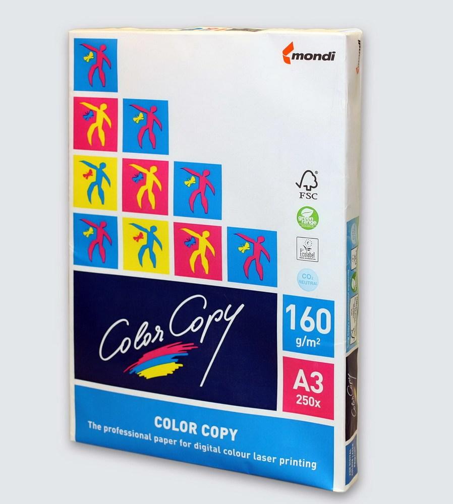 Бумага офисная A3 Color Copy 160г/м2 250л