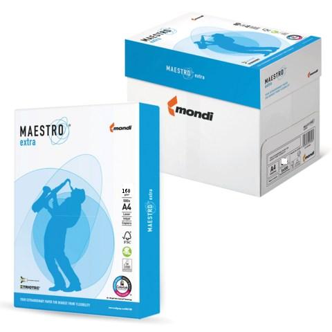Бумага офисная А4 Maestro Extra 160г/м2, 250л