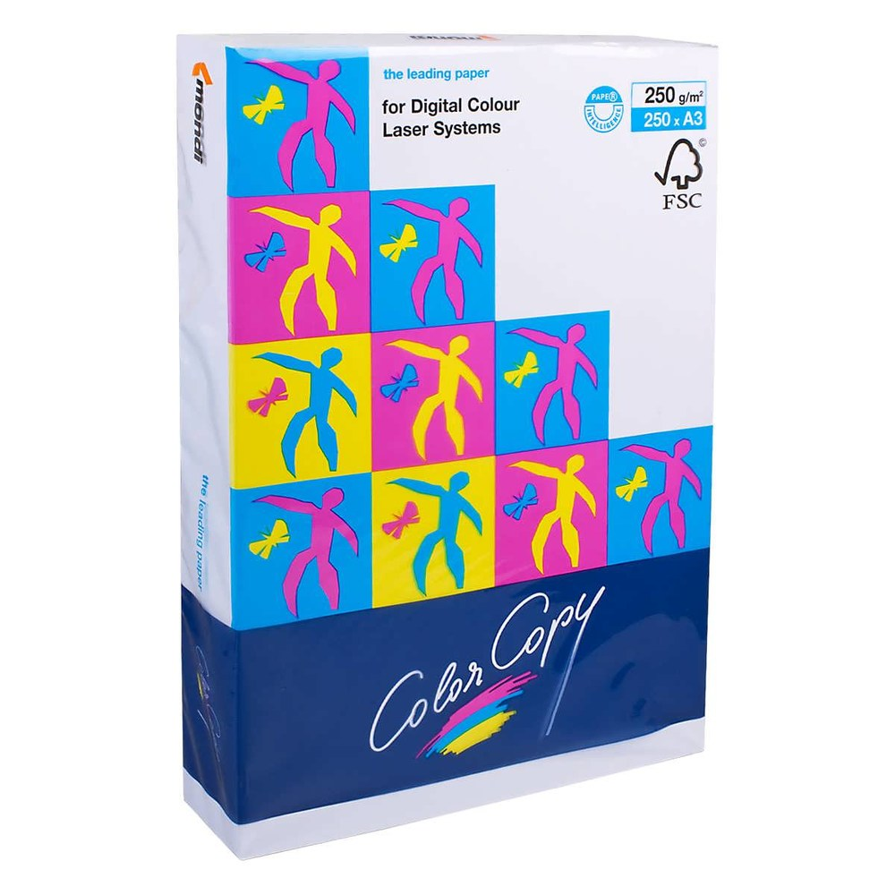 Бумага офисная A3 Color Copy 250г/м2 125л