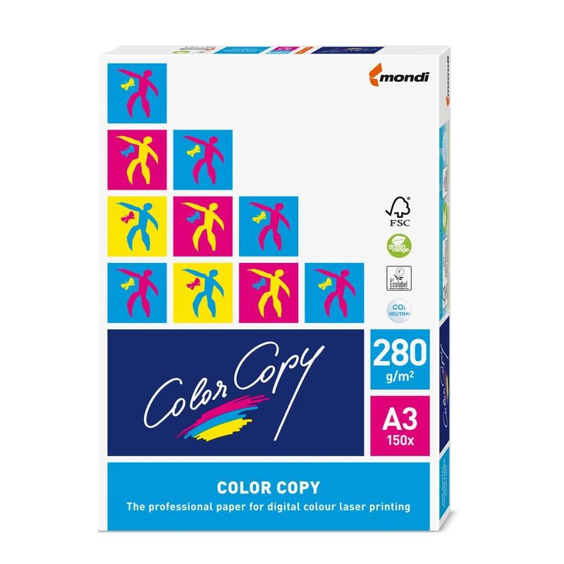 Бумага офисная А3 Color Copy 280г/м2, 150л