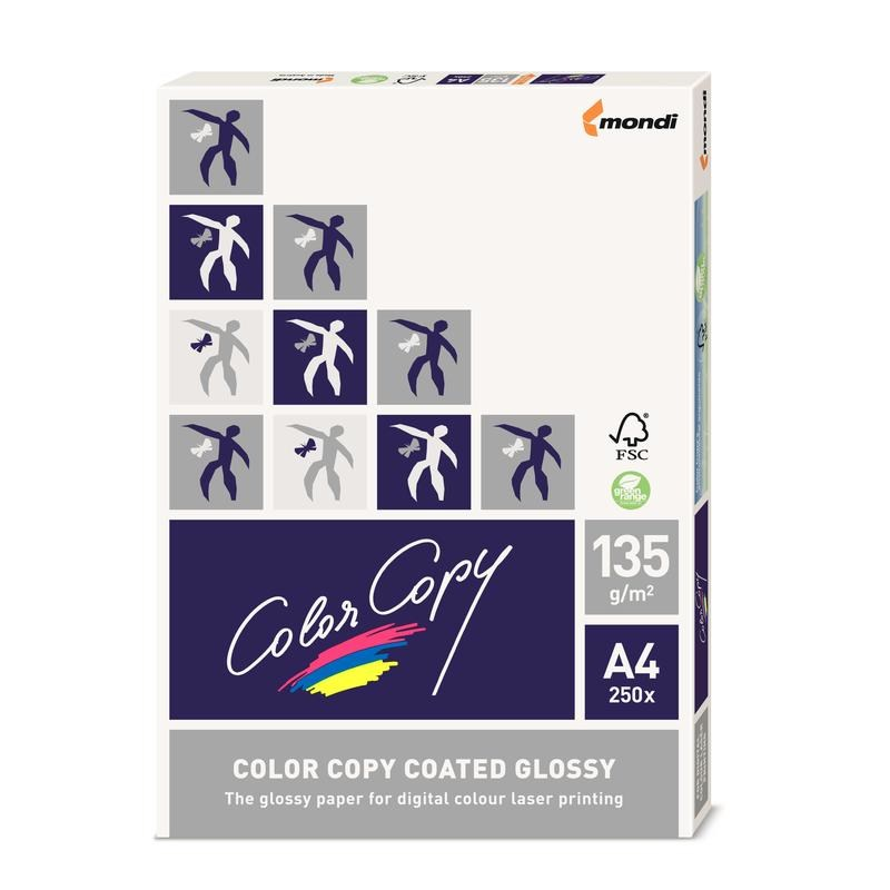 Бумага офисная А4 Color Copy 250г/м2, 125л
