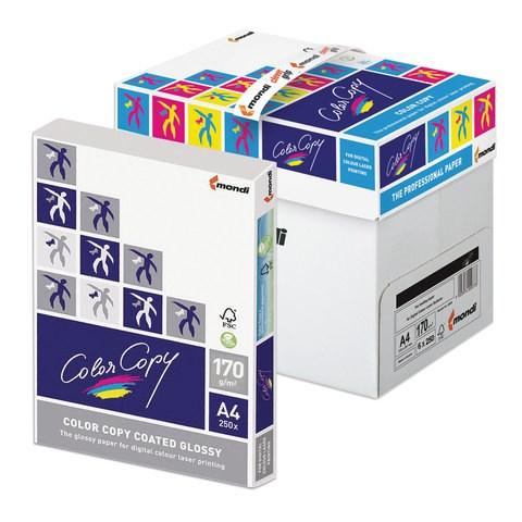 Бумага офисная А4 Color Copy GLOSSY 170г/м2, 250л