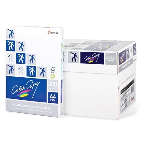 Бумага офисная А4 Color Copy GLOSSY 250г/м2, 250л