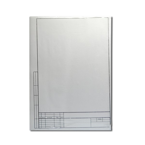 Комплект листов для курсов. проекта, А4, 75л.(5+70) с рамкой