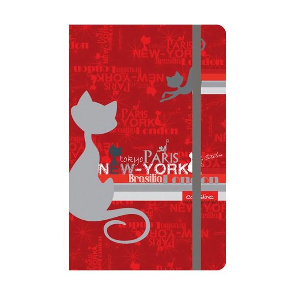 Книга записная Catsline A5, 80 листов