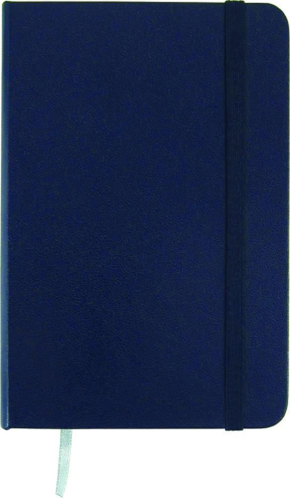 Записная книжка Partner,  А5, 125*195, 96 лист , клет, синяя