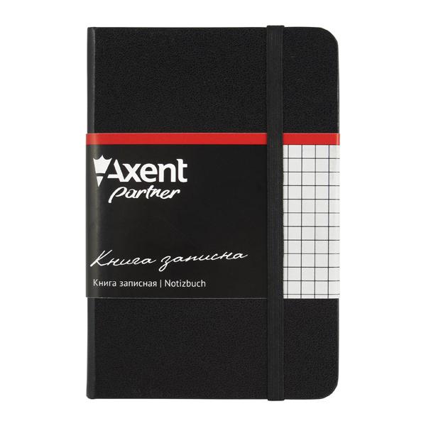 Записная книжка Partner,  95*140, 96 лист , клет, черн