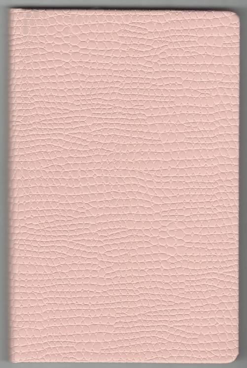 Записная книжка А5 (130х202), 128 арк, кремов.блок, клетка, обл. баладек Medusa розовый пастель