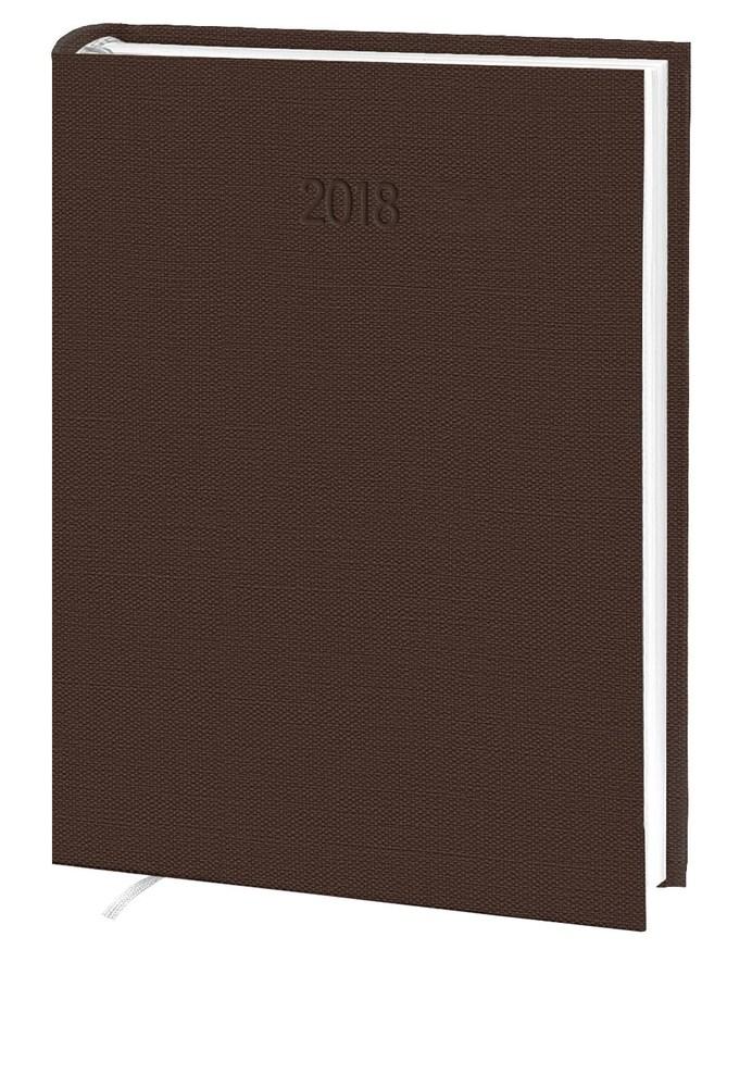 Ежедневник стандарт  Nomad  баладек коричневый  2018