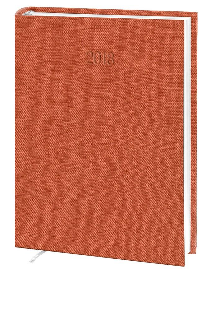 Ежедневник стандарт  Nomad баладек оранжевый  2018