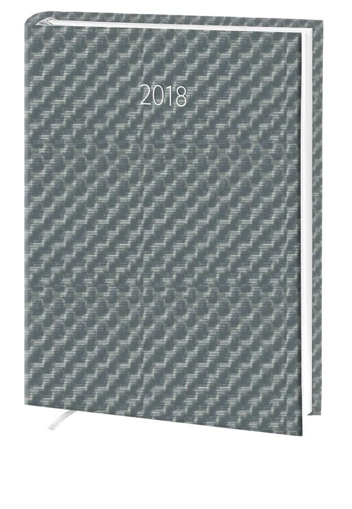 Ежедневник стандарт Hybrid баладек серебро 2018