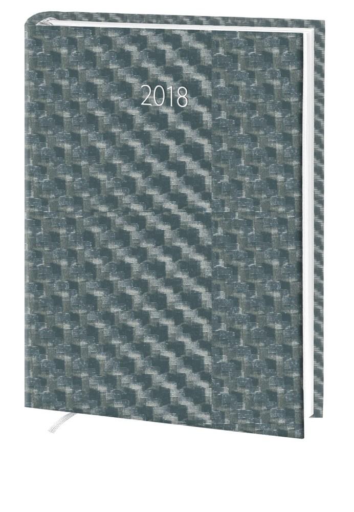 Ежедневник стандарт Hybrid баладек серый 2018
