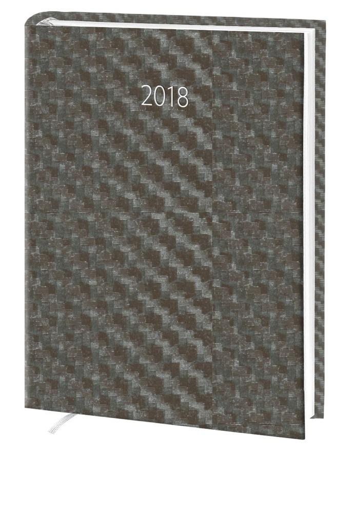 Ежедневник стандарт Hybrid баладек коричневый 2018