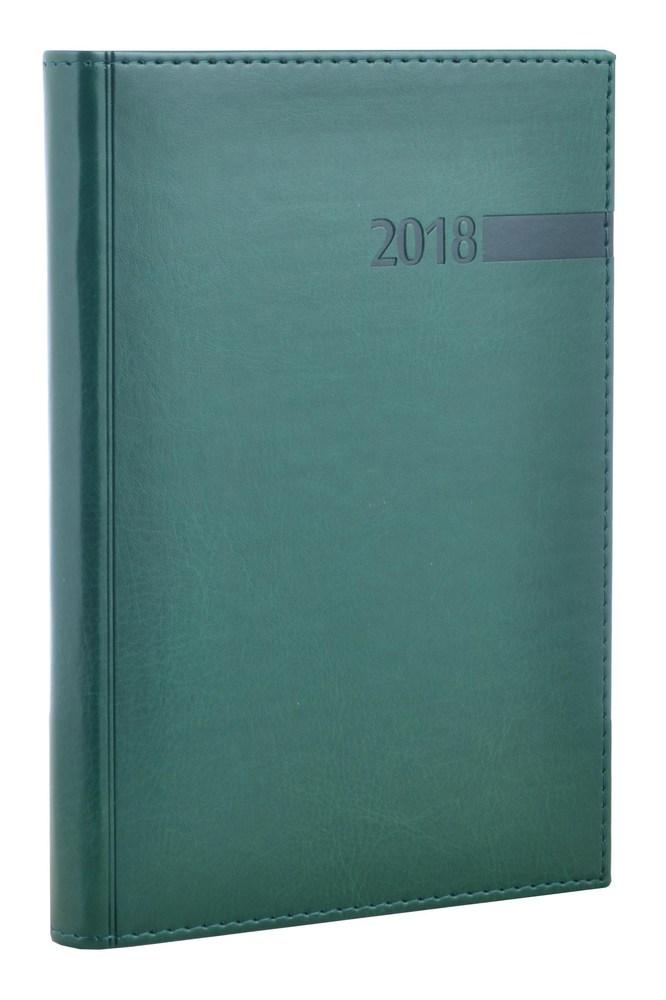 """Ежедневник А5 дат. """"Persona"""", 352 стр., зеленый"""