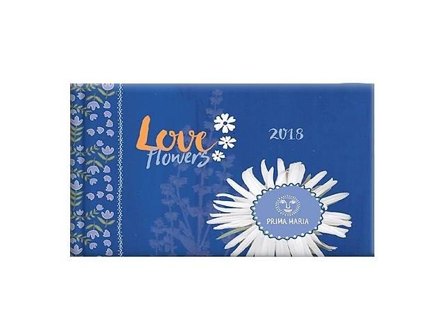 Еженедельник 2018 карманный Графо PM Love flowers