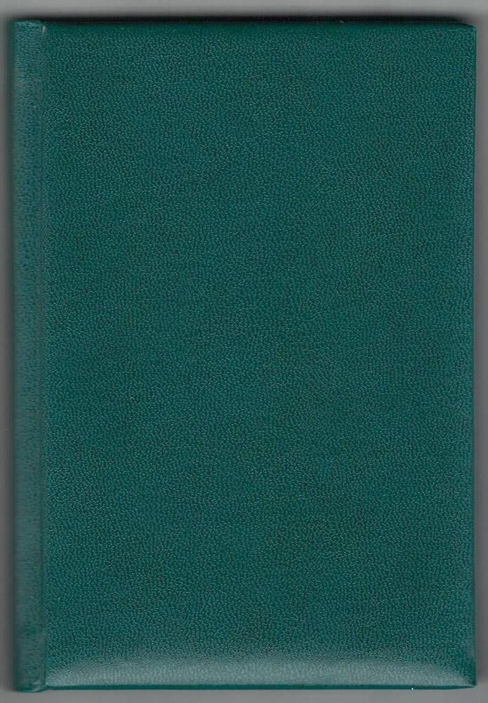 Деловой дневник,недат. А6 (98х140), 146 арк., линия, обл. балакрон Ariane , зеленый