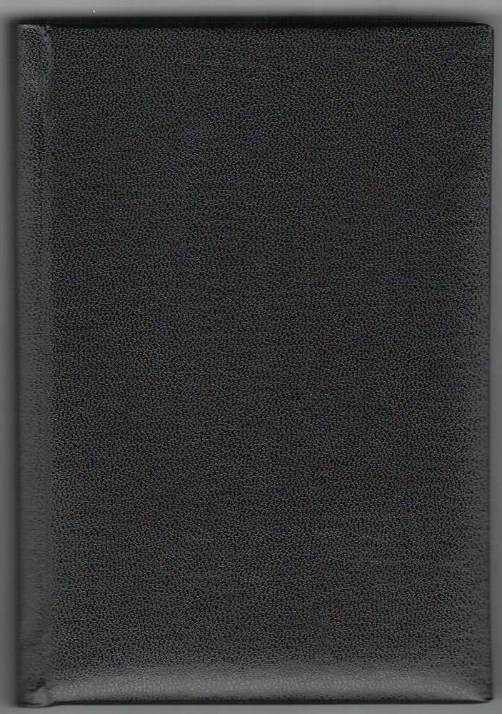 Деловой дневник,недат. А6 (98х140), 146 арк., линия, обл. балакрон Ariane , черный