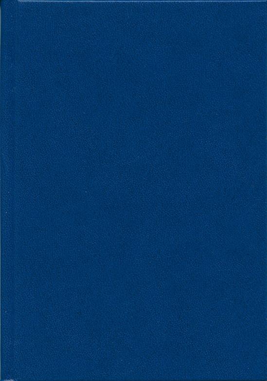 Деловой дневник,недат.формат  (98х140), 146 листов,синий