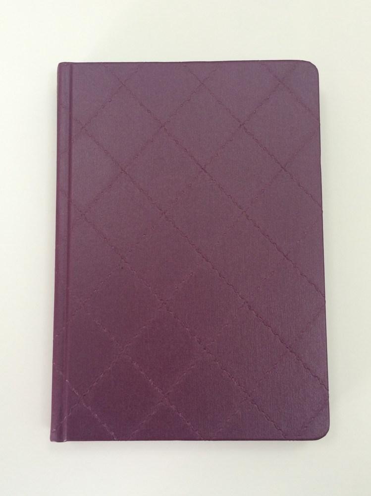Деловой дневник недатир. В6 (115х160), 160л, линия, баладек Diamond, сиреневый