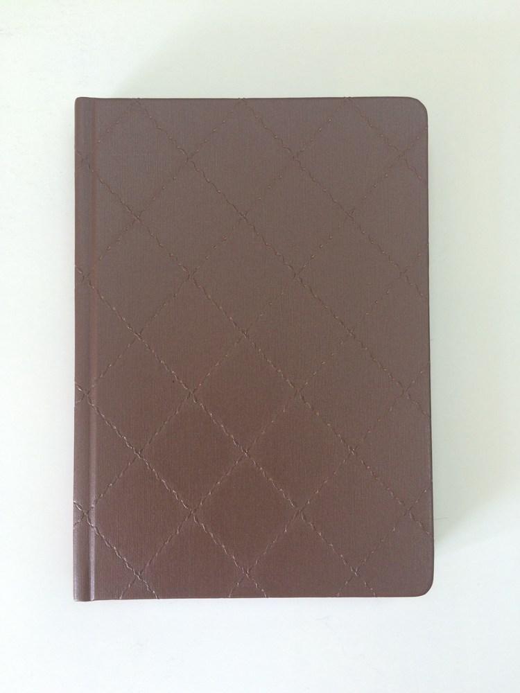 Деловой дневник недатир. В6 (115х160), 160л, линия, баладек Diamond, коричневый