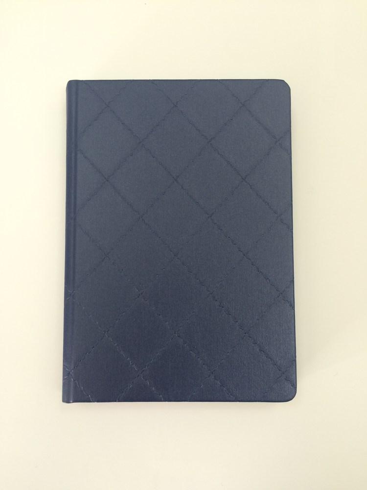 Деловой дневник недатир. В6 (115х160), 160л, линия, баладек Diamond, синий