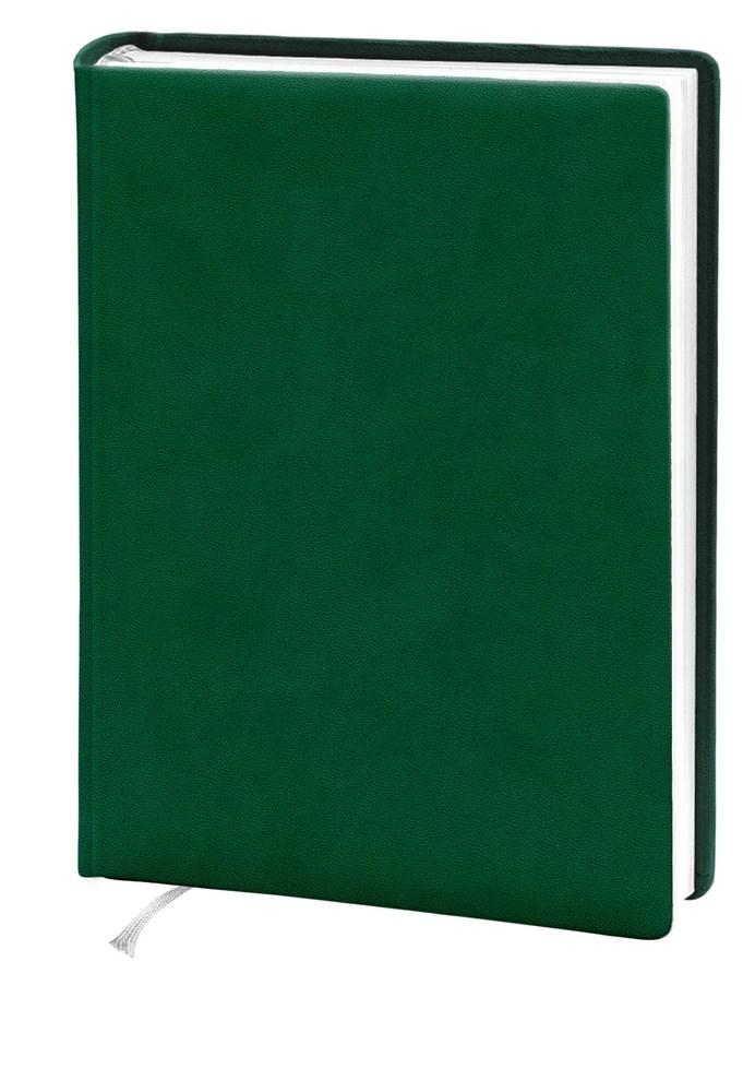 Деловой дневник 145*202, 176л, линия, искуст.кожа,зеленый