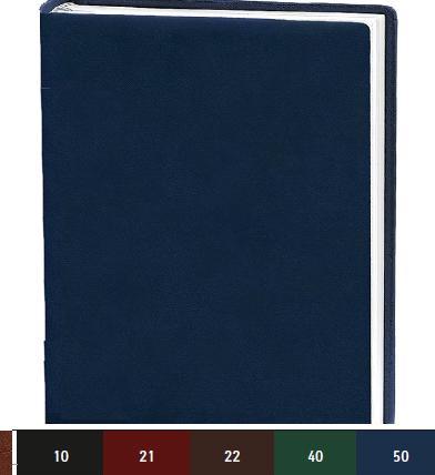 Деловой дневник 145*202, 176л, линия, искуств.кожа,красный