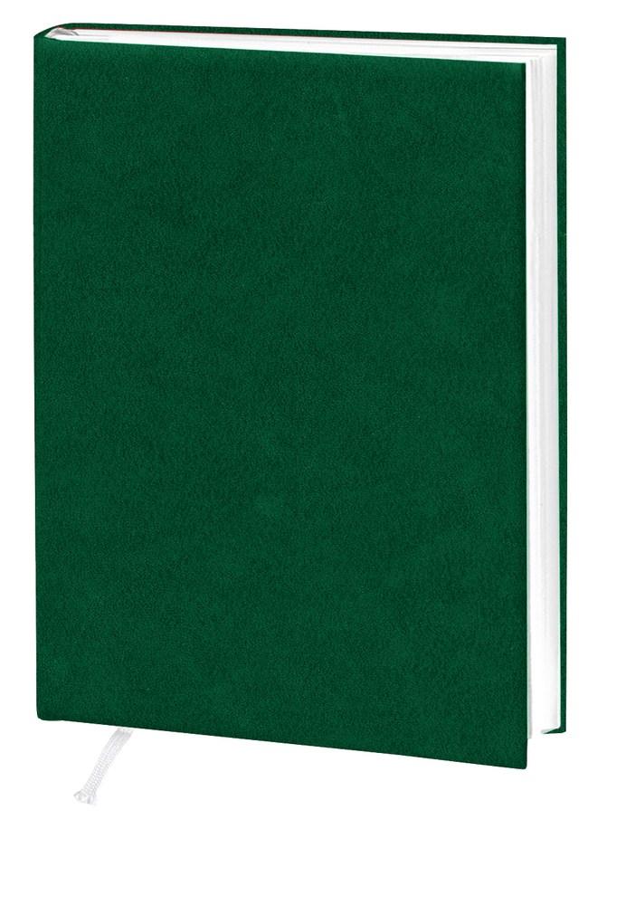 Деловой дневник, 145*202, 128 л.,клетка, баладек,зеленый