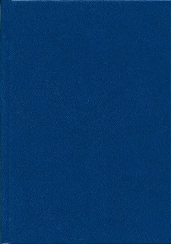 Деловой дневник, 145*202, 128 л.,клетка, баладек,синий