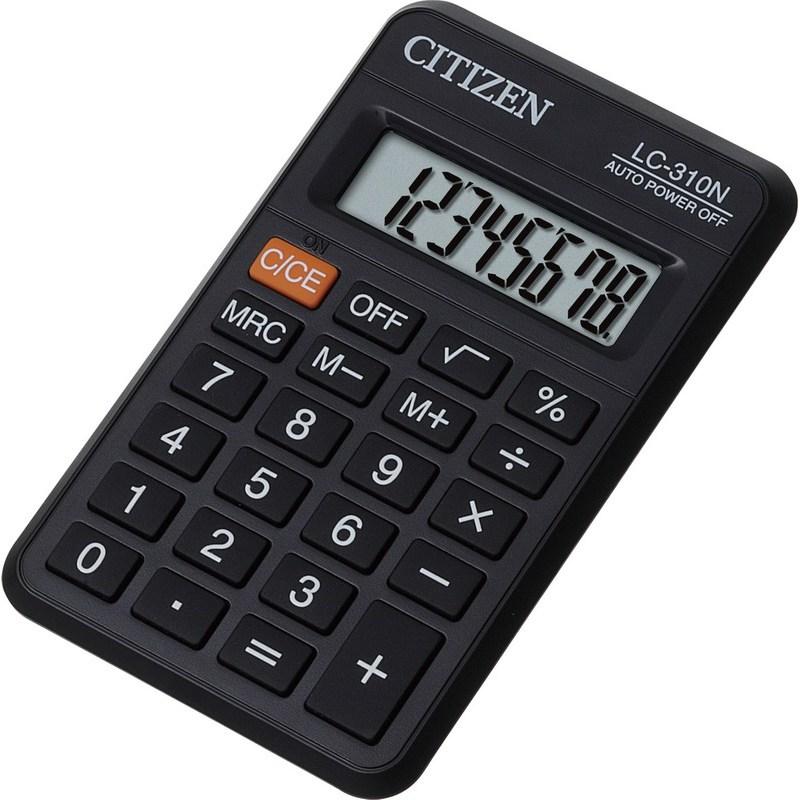 Калькулятор карманный Citizen LC-310