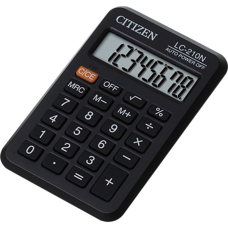 Калькулятор карманный Citizen LC-210