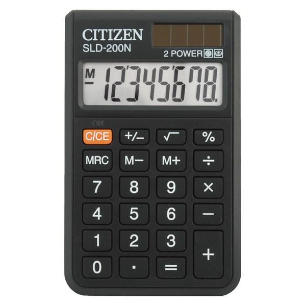 Калькулятор карманный Citizen SLD-200