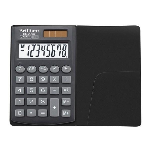 Калькулятор кишеньковий Brilliant, BS-200Х