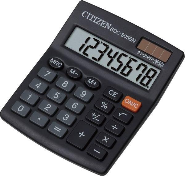 Калькулятор Citizen SDC-805