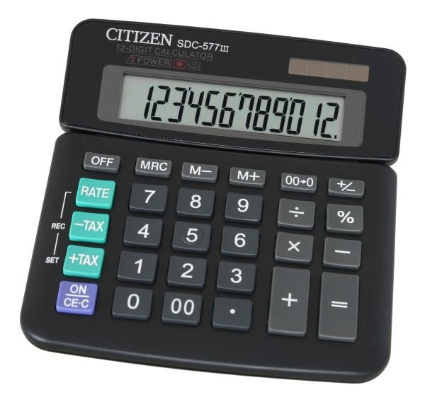 Калькулятор Citizen SDC-577