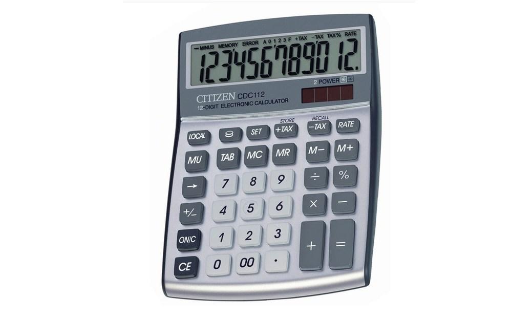 Калькулятор Citizen CDC-112 WB