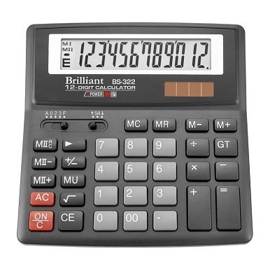 Калькулятор Brilliant BS-322