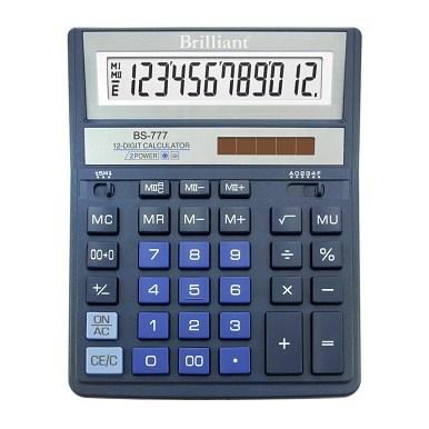 Калькулятор Brilliant BS-777BL синій