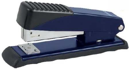 Степлер №24 Axent Exakt-2 25 листов синий