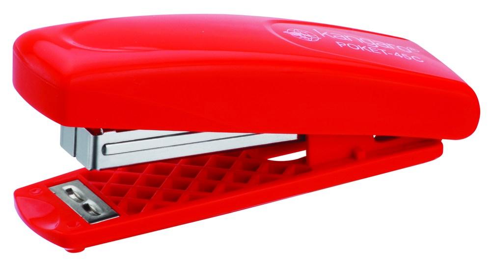 Степлер №24 Kangaro  Poket-45 ассорти 20 листов