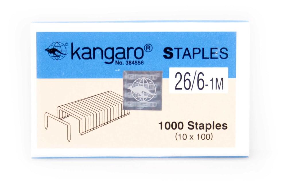 Скобы №26/6 (1000 шт/уп) Kangaro