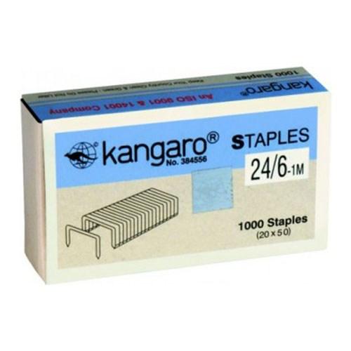 Скобы №24/6 (1000 шт/уп) Kangaro
