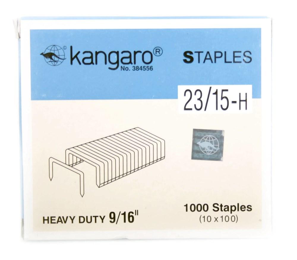Скобы №23/15 (1000 шт/уп) Kangaro