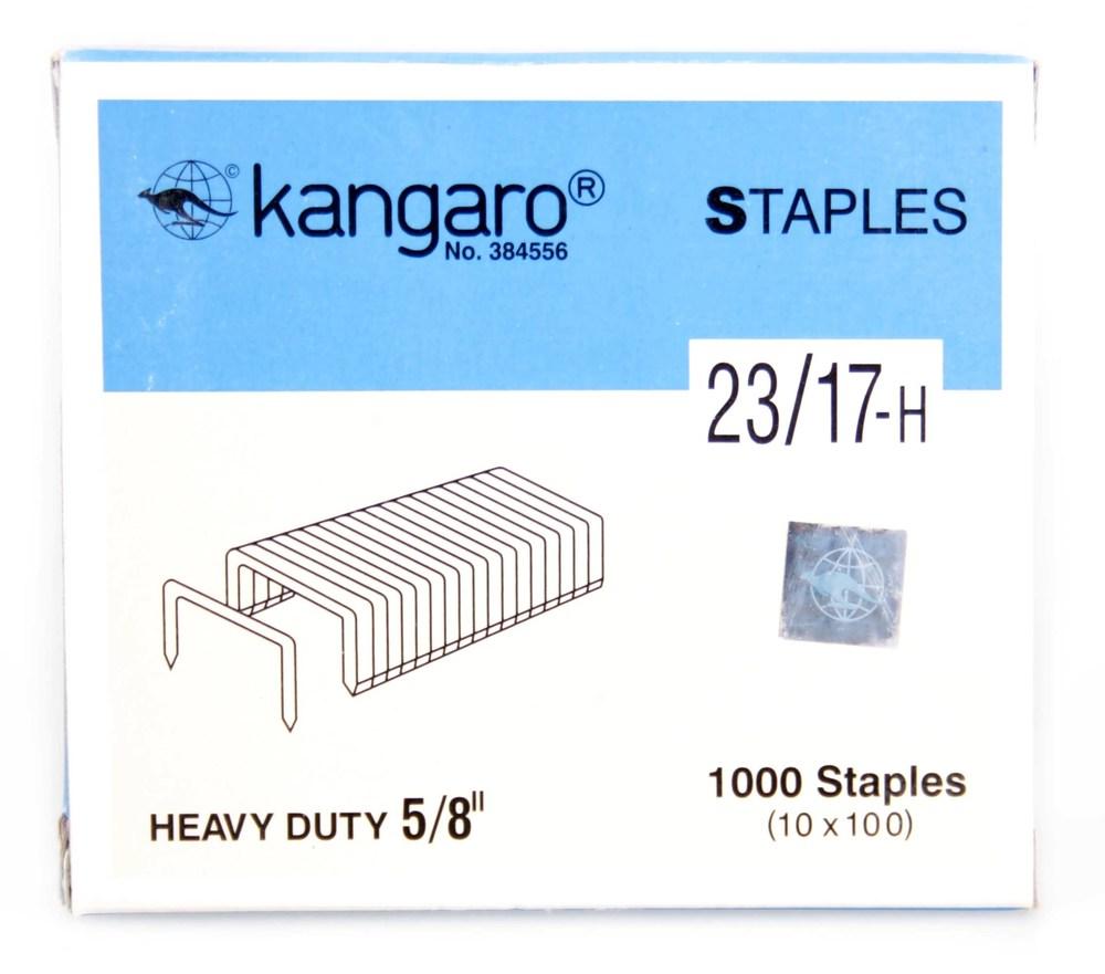 Скобы №23/17 (1000 шт/уп) Kangaro