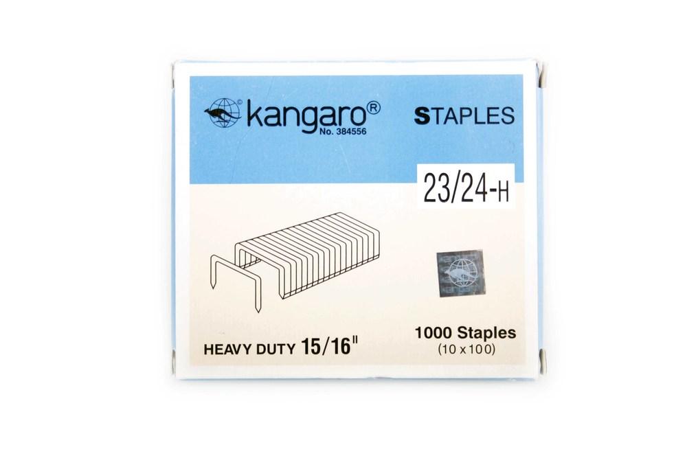 Скобы №23/24 (1000 шт/уп) Kangaro
