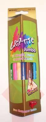Карандаши цветные Marco Crip-rite Jumbo 12 шт.