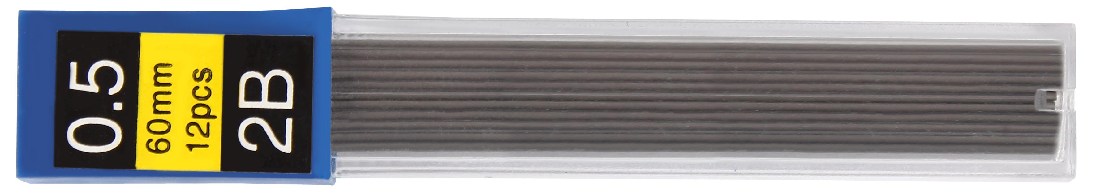 Грифель 0,5 мм для мех. карандашей Economix 2B